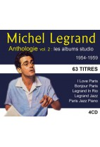 Michel Legrand - Anthologie - Volume 2 : les albums studio 1954-1959
