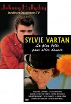 Pack DVD : Johnny Hallyday - Inédits et Documents TV + Sylvie Vartan - La plus belle pour aller danser