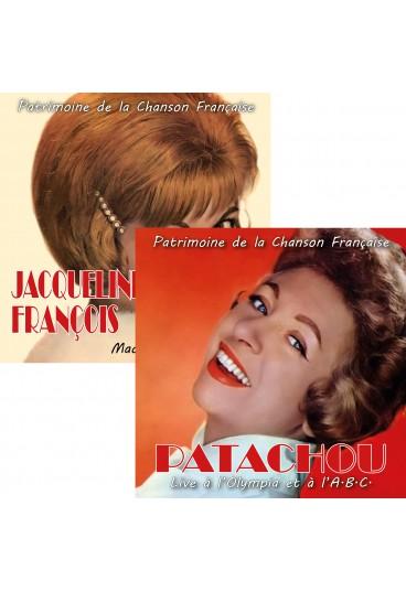 Pack CD Jacqueline François + Patachou (Patrimoine de la Chanson Française)