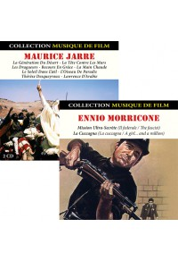 Pack CD : Maurice Jarre + Ennio Morricone