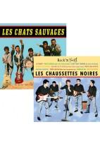 Pack CD : Les Chats sauvages + Chaussettes noires
