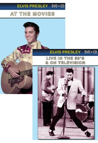 Pack DVD : Elvis Presley at the movies + live in the 50's & on television