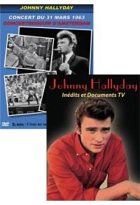Pack DVD : Johnny Hallyday - Concert au Concertgebouw d'Amsterdam + Inédits et Documents TV